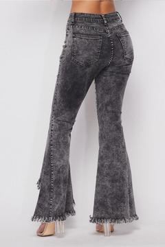 Hot & Delicious Distressed Bell-Bottom Jeans - Alternate List Image
