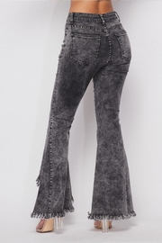 Hot & Delicious Distressed Bell-Bottom Jeans - Side cropped