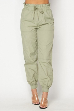 Hot & Delicious Elastic Waist Joggers - Product List Image