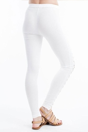 Hot & Delicious Front Lace-Up Pants - Front full body