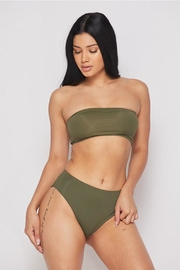 Not Available: Green Bandeau Bikini, featured at RMNOnline Fashion Group (#RMNOnline) (#SwimWeek Edition)