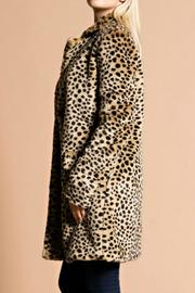 Hot & Delicious Leopard Coat - Front full body