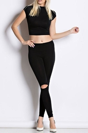 Hot & Delicious Mid Waist Leggings - Product Mini Image