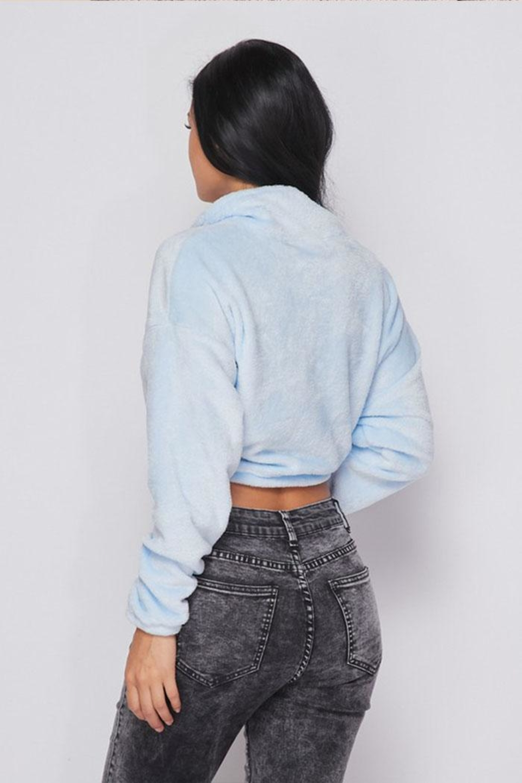 Hot & Delicious Plush Fleece Pullover - Side Cropped Image