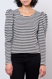 Hot & Delicious Puff Shoulder Top - Product Mini Image