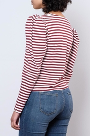 Hot & Delicious Puff Shoulder Top - Side cropped