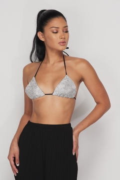 Hot & Delicious Rhinestone Bra Top - Product List Image