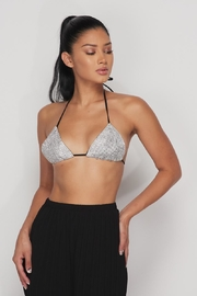 Hot & Delicious Rhinestone Bra Top - Product Mini Image