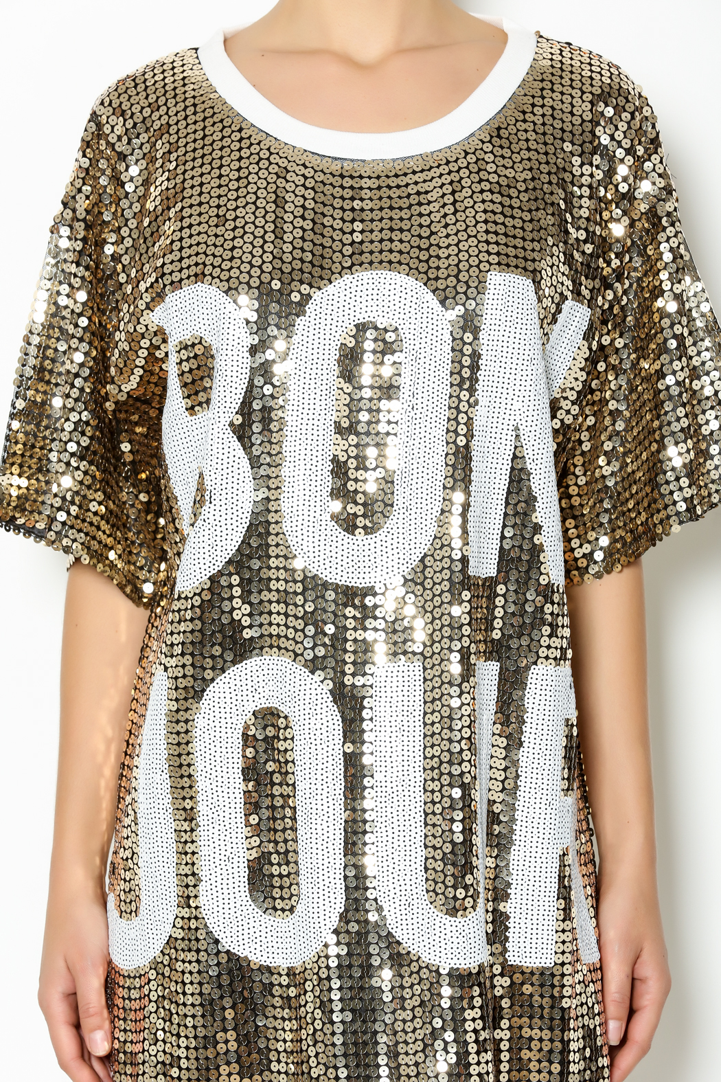 f5a2d083e50 Hot   Delicious Sequin Bonjour Dress from New York by Dor L Dor ...