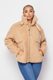 Hot & Delicious Sherpa Short Jacket - Product Mini Image