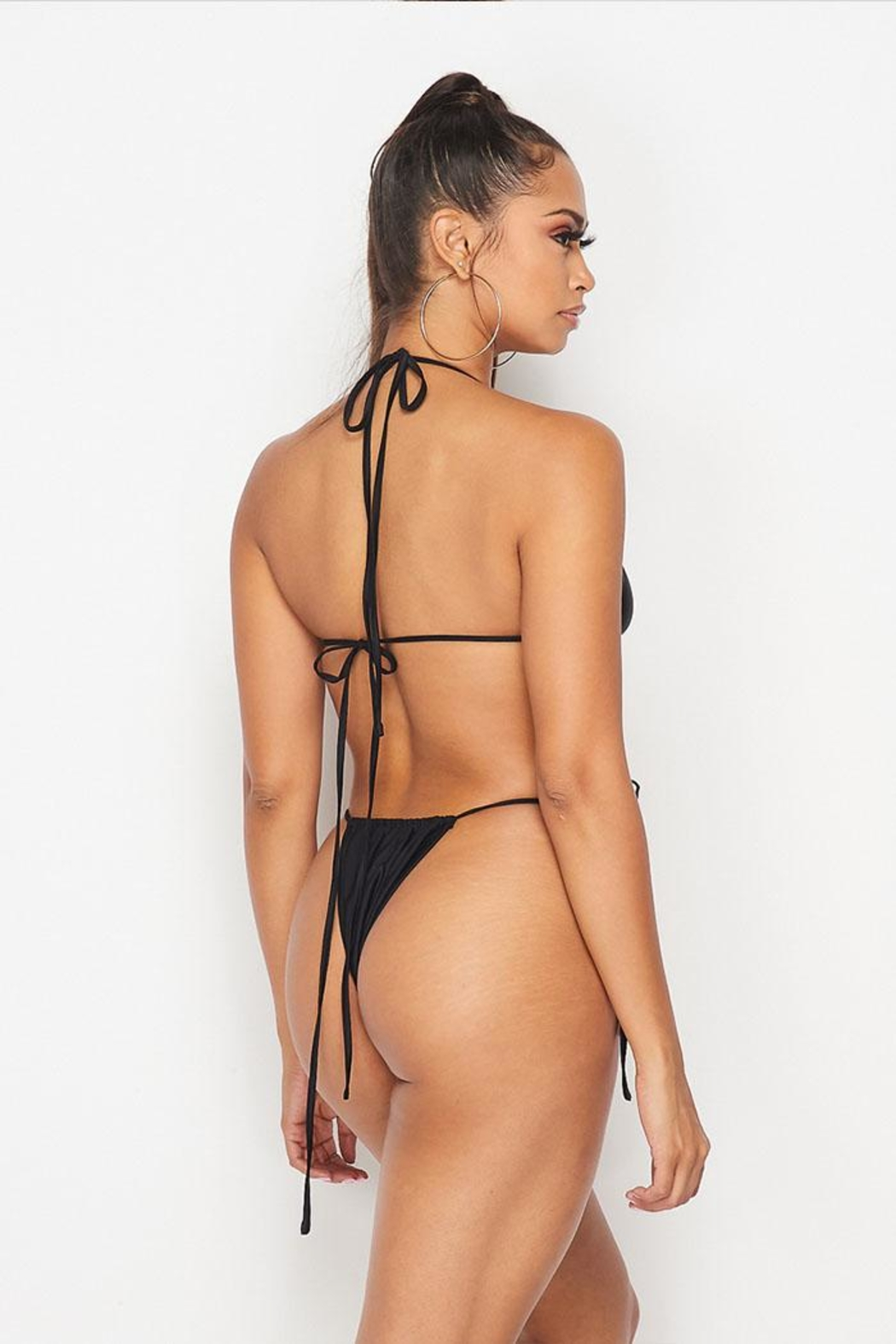 Hot & Delicious String Bikini Top - Back Cropped Image