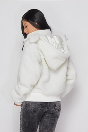 hot and delicious Hooded Fleece Jacket - Front full body