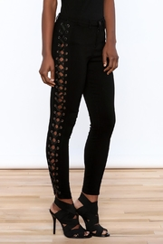 hot and delicious Lace Up Pants - Front cropped