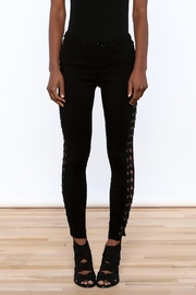 hot and delicious Lace Up Pants - Side cropped
