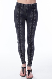 hot and delicious Laced Up Jegging - Product Mini Image