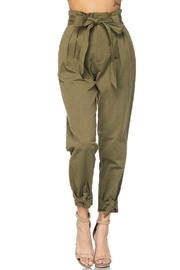 hot and delicious Olive Paperbag Pants - Other