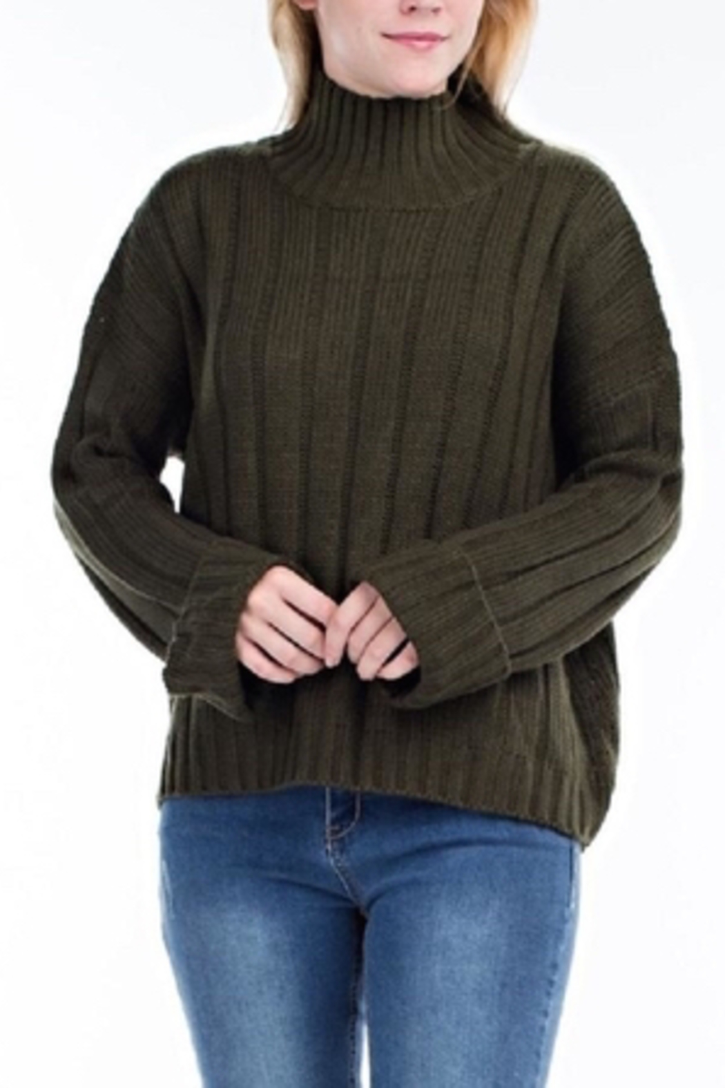hot and delicious Oversized Chenille Sweater - Main Image