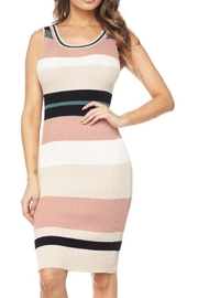 hot and delicious Striped Dress - Product Mini Image