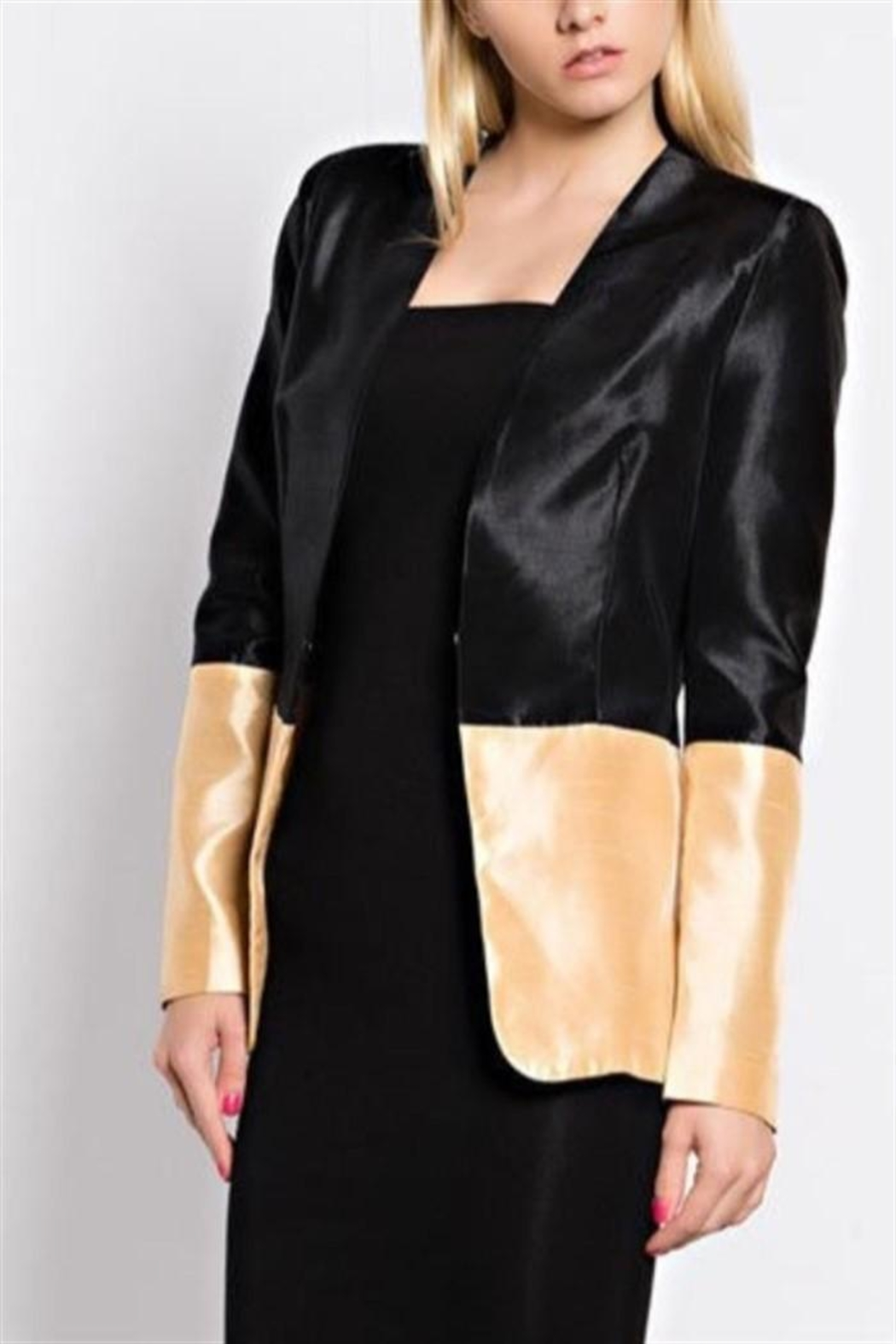 hot and delicious Two Tone Blazer - Main Image