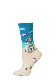 Hot Sox Beach Trouser Sock - Product Mini Image