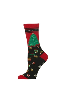 Shoptiques Product: Christmas Tree Socks