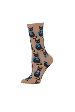 Shoptiques Product: Coffee Cat Socks
