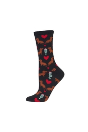 Hot Sox Dachshund Socks - Front cropped