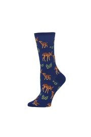 Hot Sox Deer Socks - Front cropped
