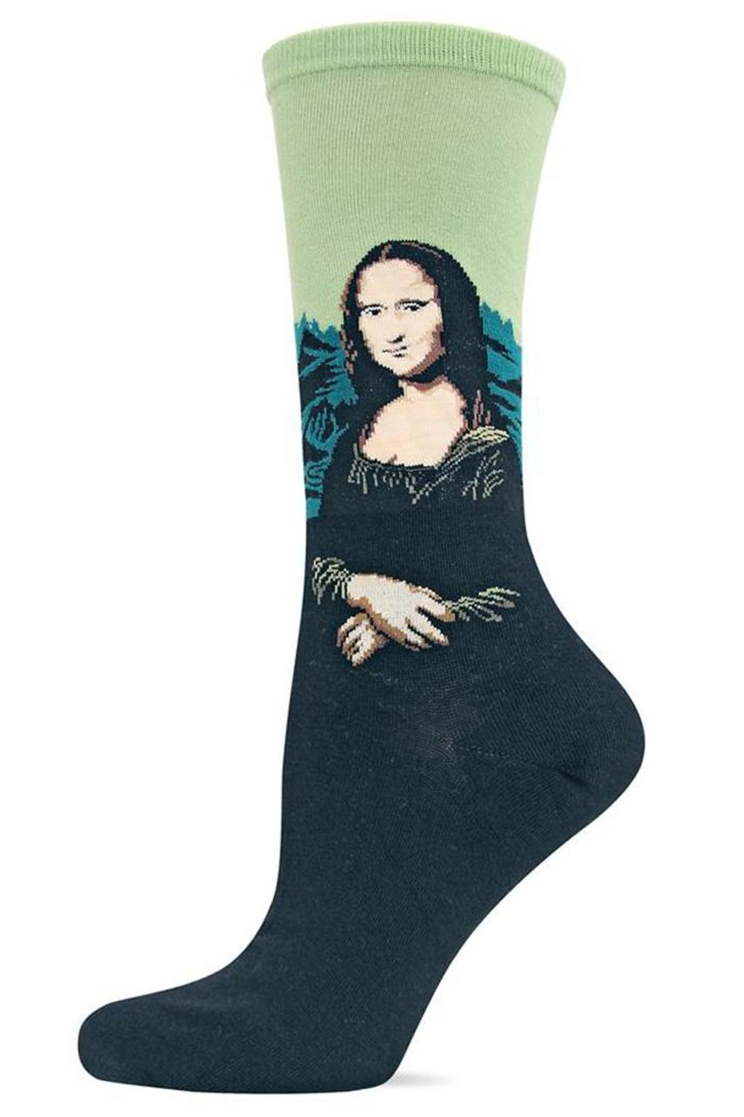 Hot Sox Mona Lisa Sock - Main Image
