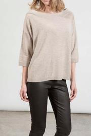 hotel particulier Beige Cashmere Jumper - Product Mini Image