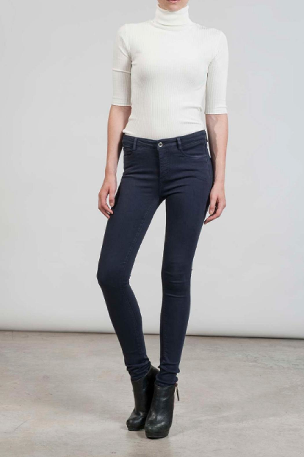 hotel particulier Blue Skinny Trousers - Main Image