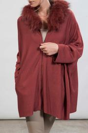 hotel particulier Fur Cardigan - Front full body