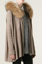 hotel particulier Fur Long Cardigan - Product Mini Image