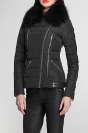 hotel particulier Fur Puffer Jacket - Product Mini Image