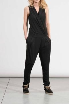 Shoptiques Product: Jersey Sleeveless Jumpsuit