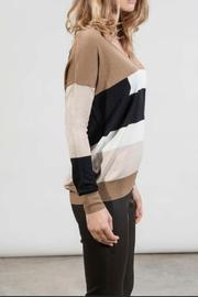 hotel particulier Jumper Colorblock - Front full body