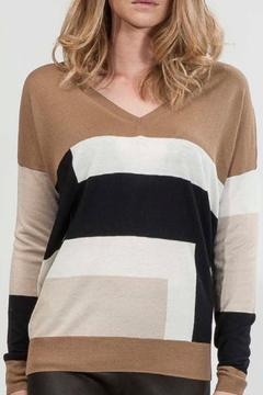 hotel particulier Jumper Colorblock - Product List Image