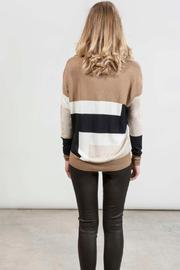 hotel particulier Jumper Colorblock - Side cropped