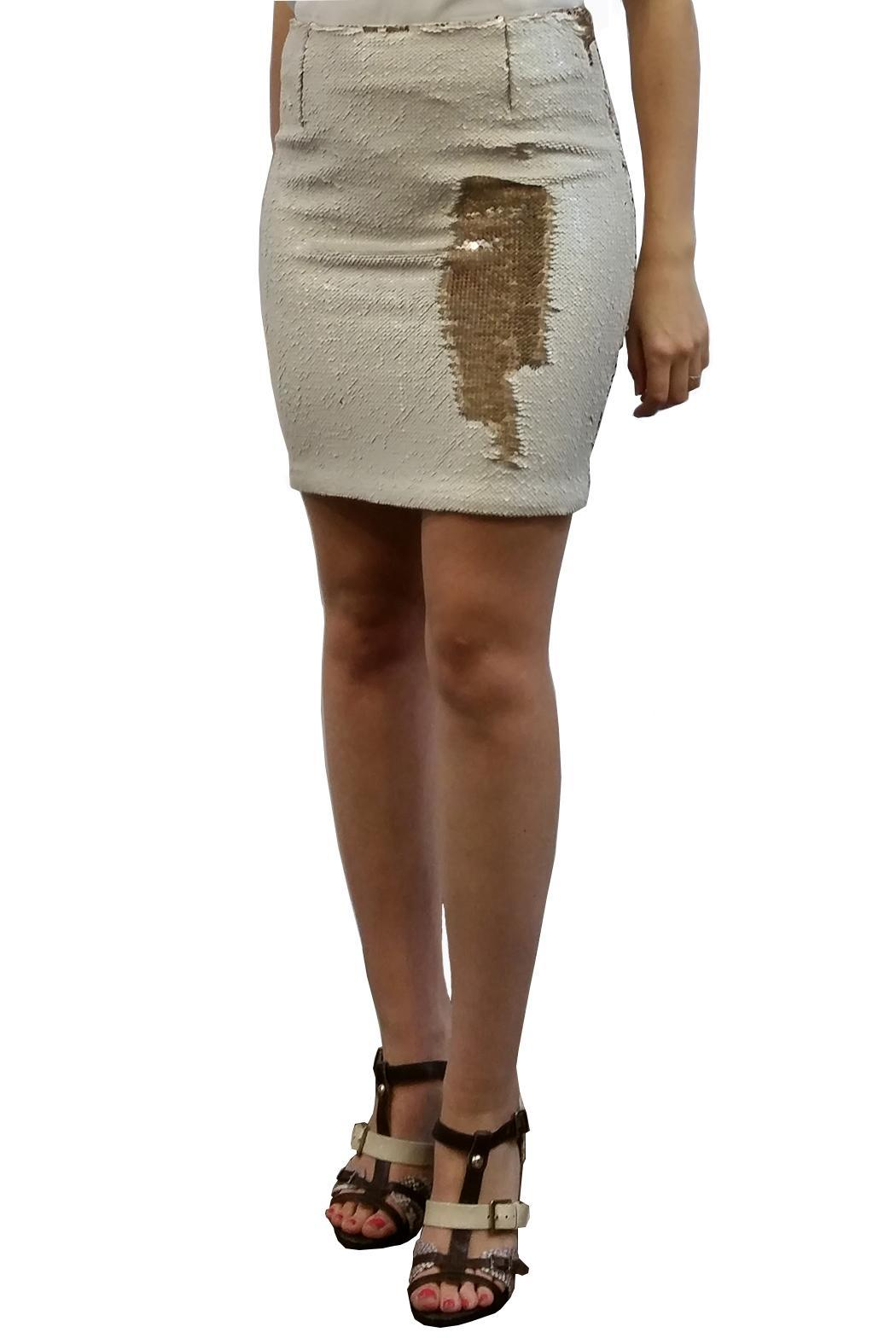 hotel particulier Mini Skirt Sequins - Main Image
