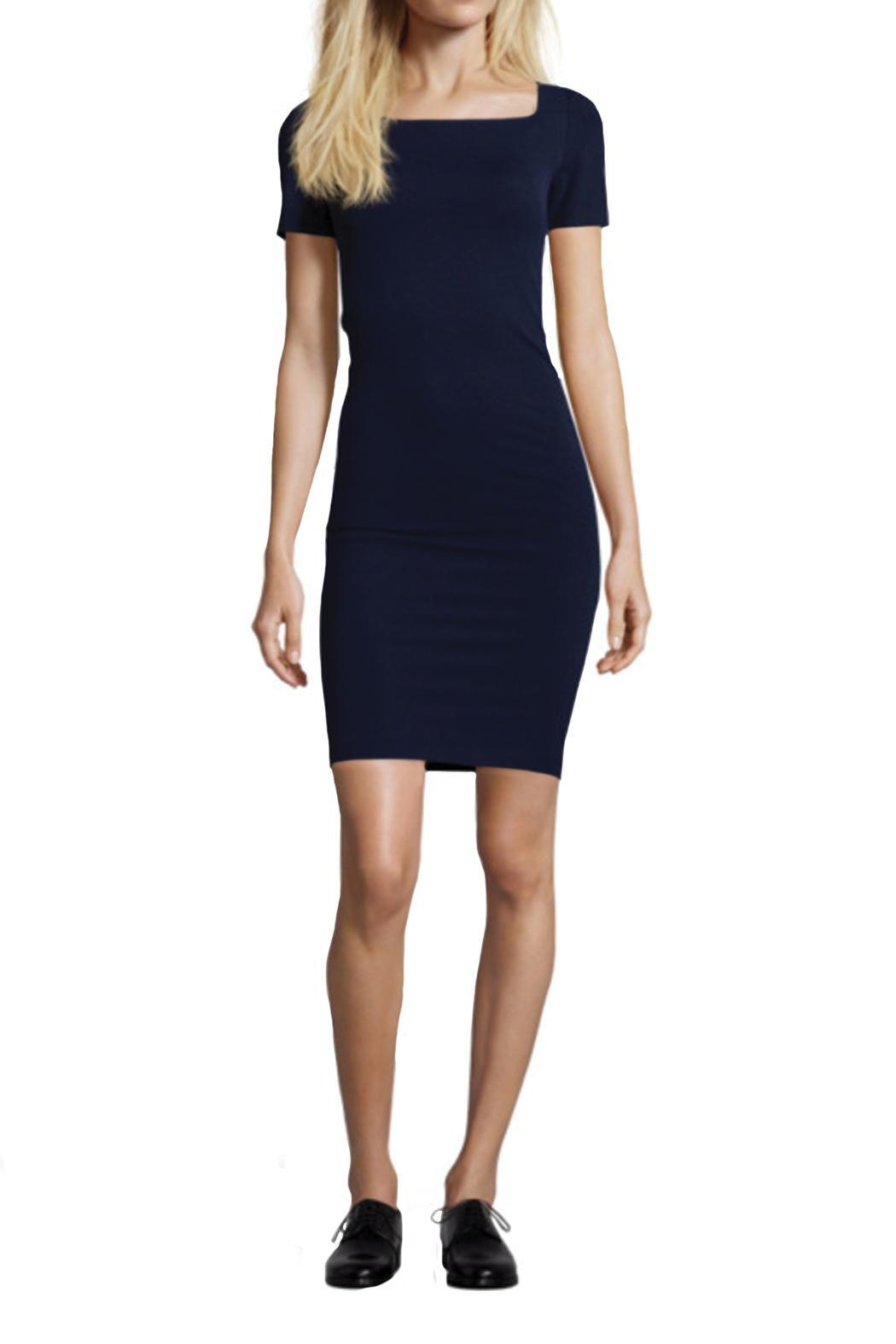 hotel particulier Navy Dress - Main Image