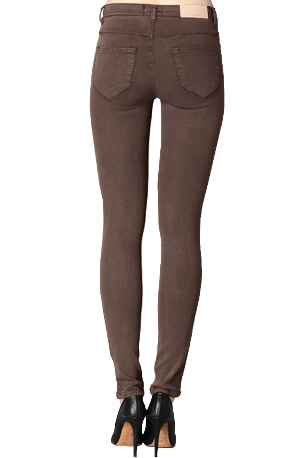 hotel particulier Slim Trousers - Front Full Image