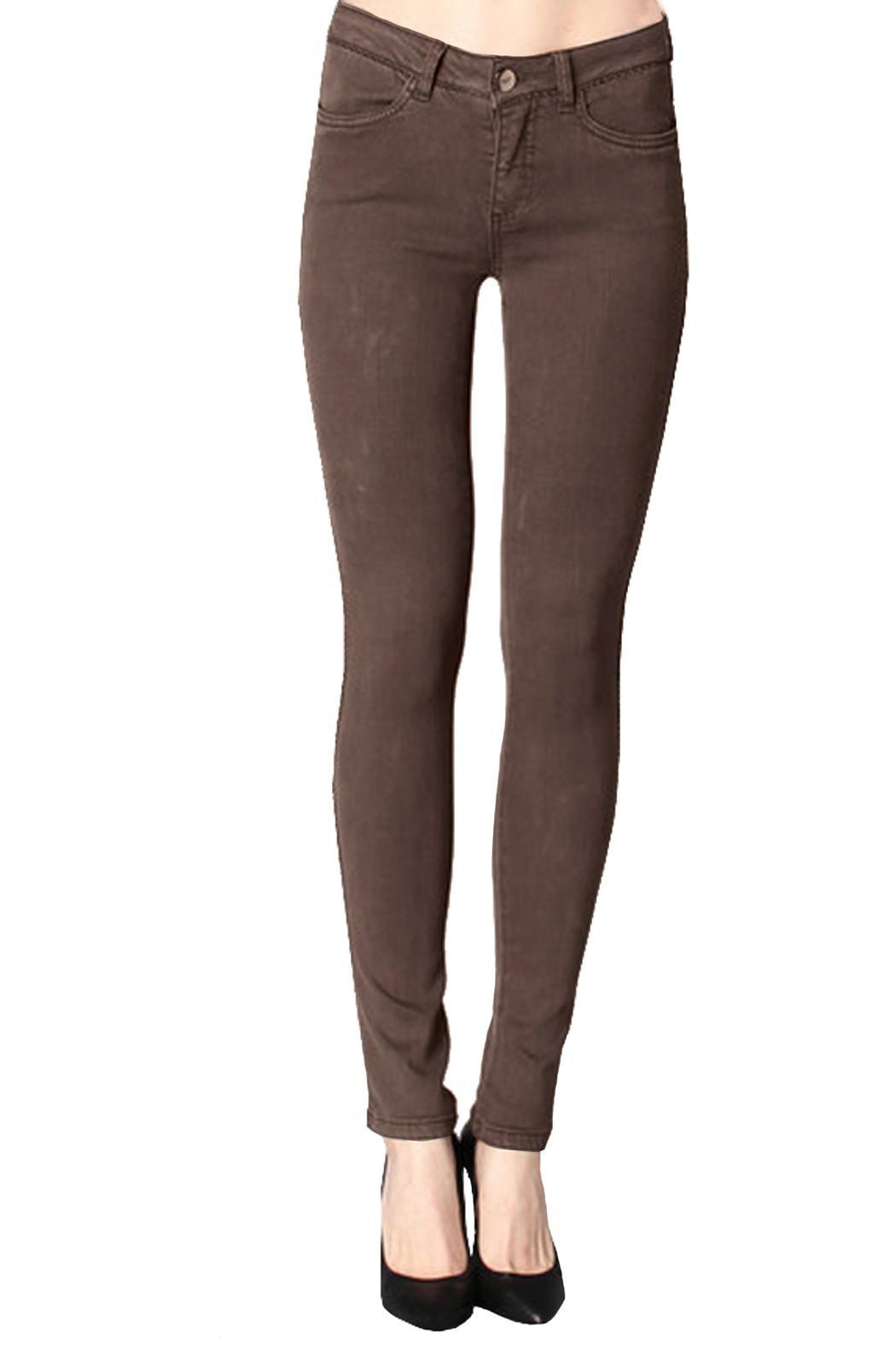 hotel particulier Slim Trousers - Main Image