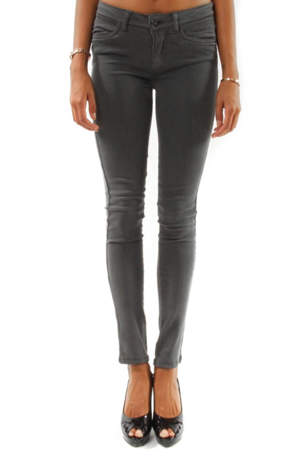 hotel particulier Slim Trousers - Front Cropped Image