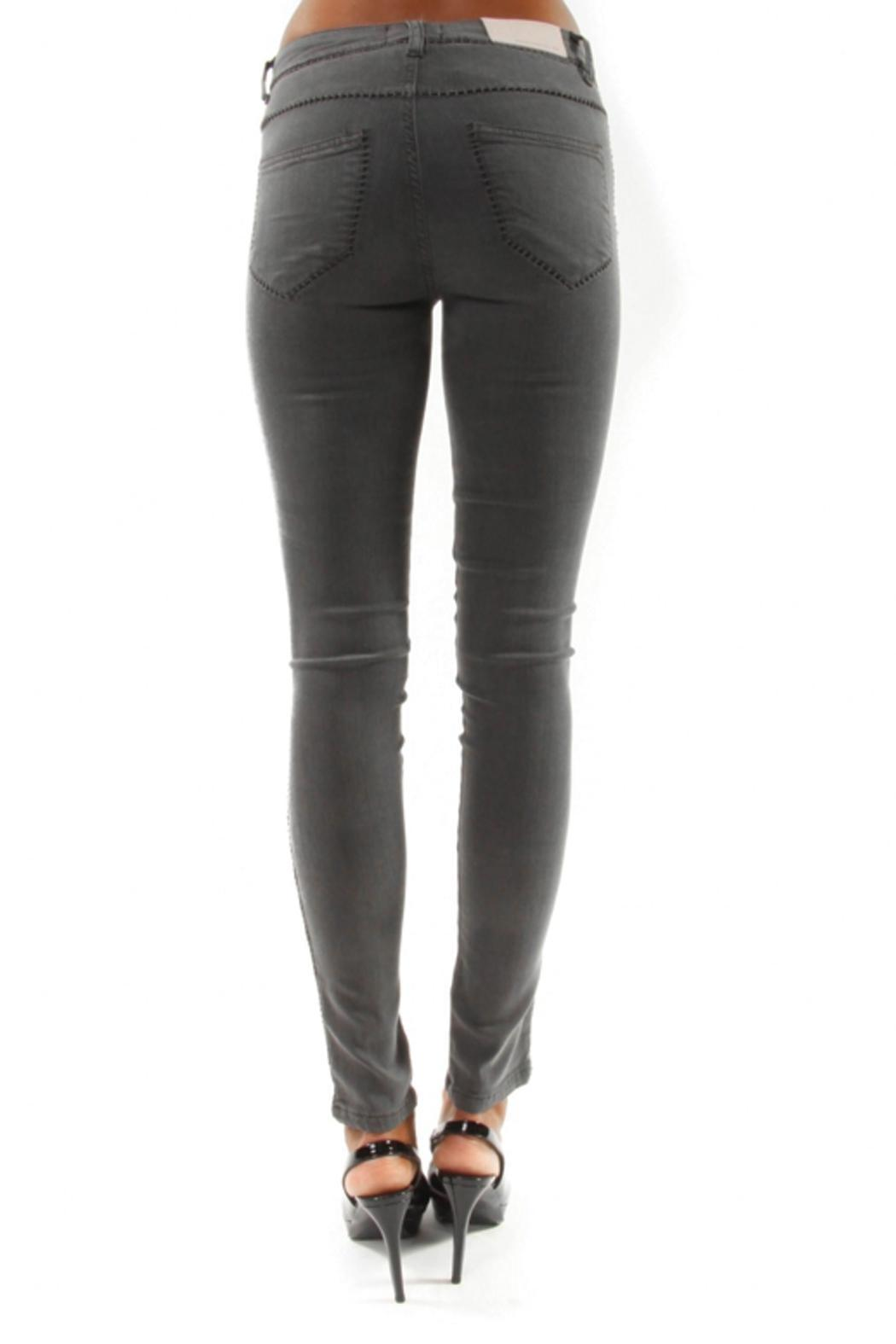 hotel particulier Slim Trousers - Side Cropped Image