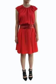 hotel particulier Summer Red Dress - Product Mini Image