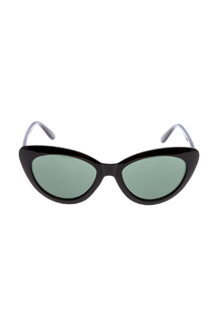 Houe of Atelier Black Cat Eye Sunglasses - Product List Image