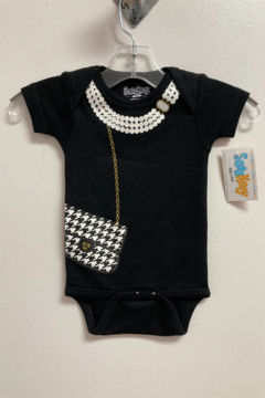 Shoptiques Product: Houndstooth Bag Snapsuit