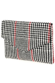 joseph d'arezzo Houndstooth Envelope Clutch - Product Mini Image