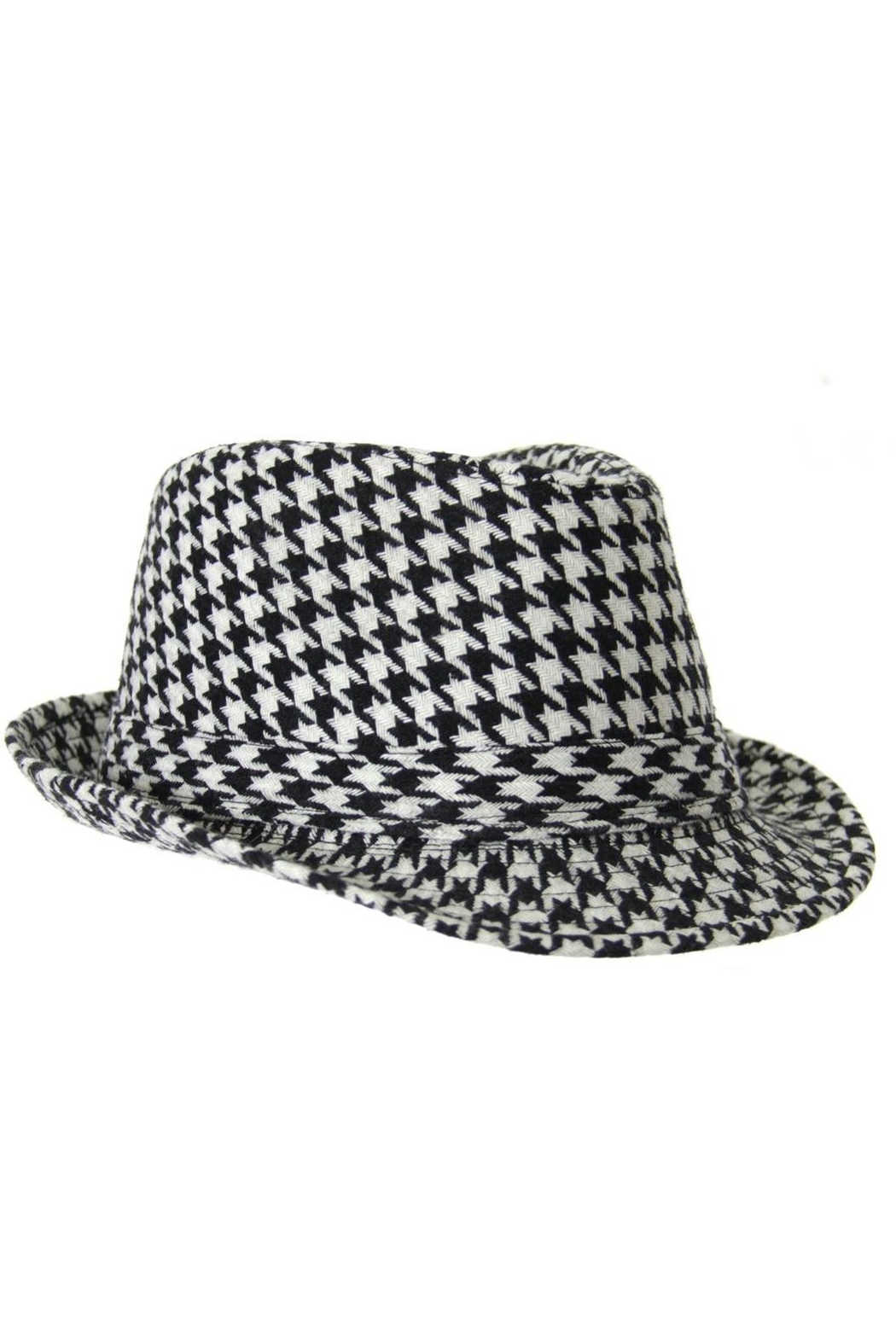 d6e54617e4213 Diane s Accessories Houndstooth Fedora Hat from Alabama by Jubilee ...