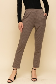 Hem and Thread Houndstooth knit pant - Product Mini Image